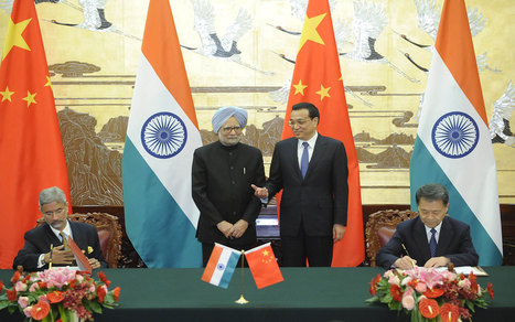 China, India sign border defense pact | Political and Other | Scoop.it