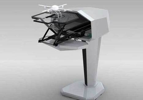 Aerial Surveillance Drone Launched from a Mailbox | Hack N Mod | Robotic Helicopters | Scoop.it