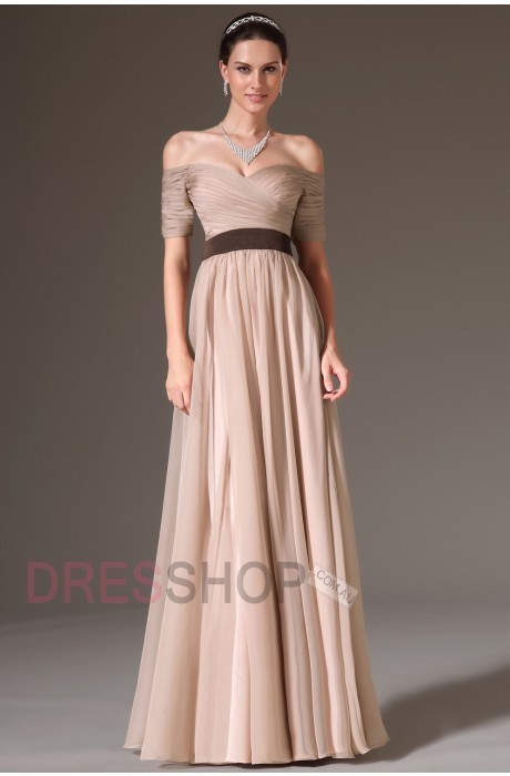 Off-Shoulder A-Line Classy Prom Dresses | Trends for prom 2014 | Scoop.it