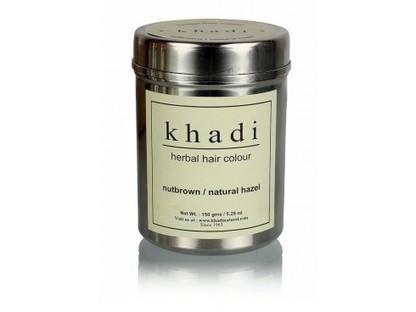 Buy Khadi Herbal Hair Colour(Nut Brown) Online | Herbal and Natural Hair Color | Scoop.it