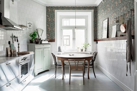 Get the look   Une cuisine scandinave   décoration & déco   Scoop.it