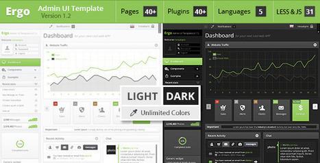 Ergo - Themeforest Admin UI Template | Dashboard | Scoop.it