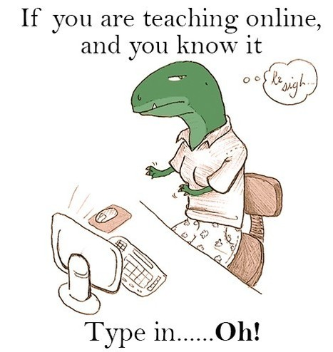Here's Why Teachers Should Not be Digital Dinosaurs in 2014 | languages and computers | Scoop.it