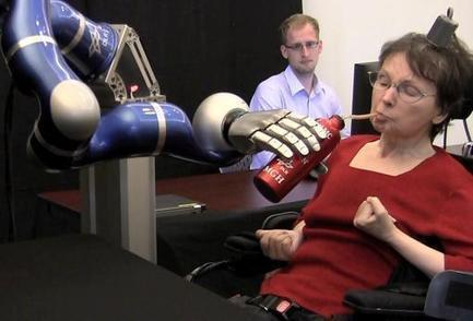 People with paralysis control robotic arms using brain-computer interface | Brown University News and Events | Technological Trends | Scoop.it