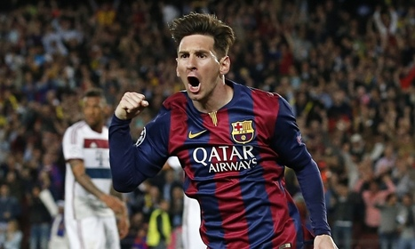 Barcelona's forward line is an unstoppable Champions League force | Paul Wilson - The Guardian | AC Affairs | Scoop.it
