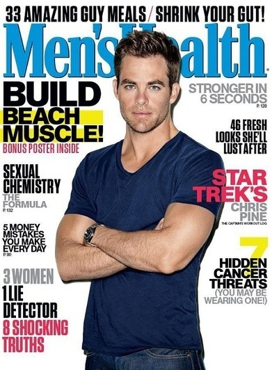 JHPbyJIMIPARADISE™: Chris Pine su Men's Health! | QUEERWORLD! | Scoop.it