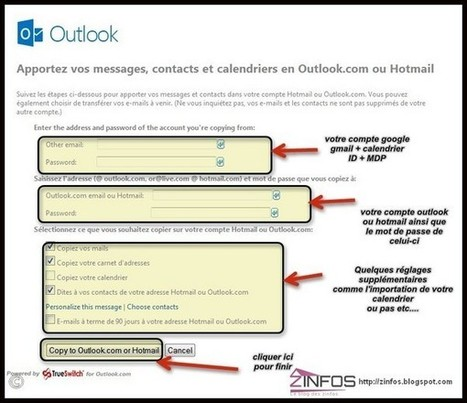 Laisser tomber Gmail et le calendrier pour outlook avec TrueSwitch | Time to Learn | Scoop.it