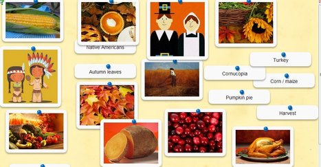 Thanksgiving vocabulary quiz made with Quia, Rhinospike and  LearningApps | English Language Learners (K-12) | Scoop.it