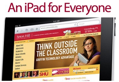 Seton Hill University's iPad rollout – more insights from a model implementation | Emerging Education Technology | iPads and Tablets in Education | Scoop.it