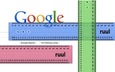 Dos opciones para medir cualquier elemento en una página web | Recull diari | Scoop.it