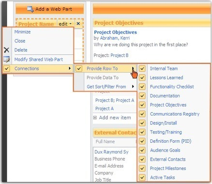SharePoint: Filtering with Web Part Connections | SharePoint Nice to Know | Scoop.it