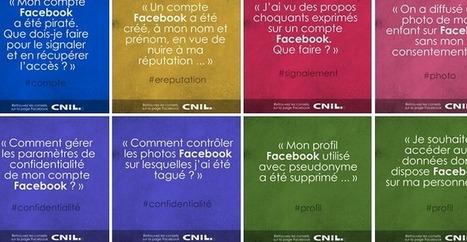 La CNIL conseille les utilisateurs de Facebook   Actua web marketing   Scoop.it