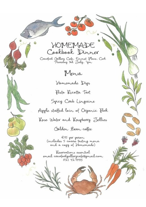 "Clodagh McKenna's ""Homemade"" Cookbook Dinner at The Crawford 