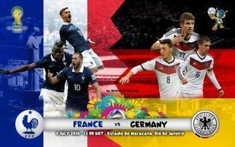 Fifa World Cup 2014: France vs Germany Live Stream. kick-off. Schedule. TV Info Online Coverage | Watch Live Stream WWE Money in the Bank Ladder Match 2014 | Scoop.it