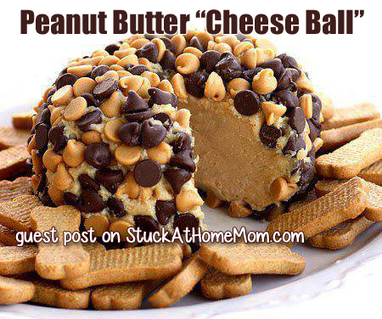 """#RECIPE - Peanut Butter """"Cheese Ball"""" 