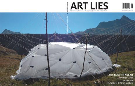 ART LIES: A Contemporary Art Quarterly | Architecture | Scoop.it