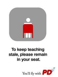 To keep teaching stale, please remain in your seat! | Teaching and Learning with Teachers | Scoop.it