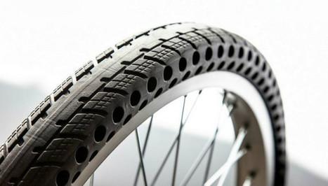 Vélo : adieu les crevaisons avec le pneu à trous et le pneu plein ! | ocmq | Scoop.it