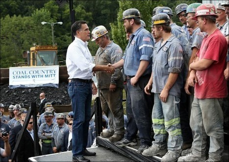 Wow! Hundreds of Ohio Coal Miners Stand in Line for Mitt Romney | The Gateway Pundit | Restore America | Scoop.it