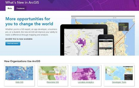 What's New in ArcGIS - Esri | ArcGIS Geography | Scoop.it