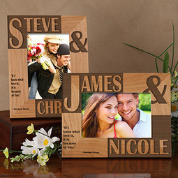 Because of You Personalized Photo Frame | Christmas Gifts | Christmas Gifts For Every Occasion | Scoop.it
