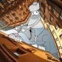 Sky Art: Thomas Lamadieu Illustrates in the Sky Between Buildings | Colossal | Flow: Inspiración | Scoop.it