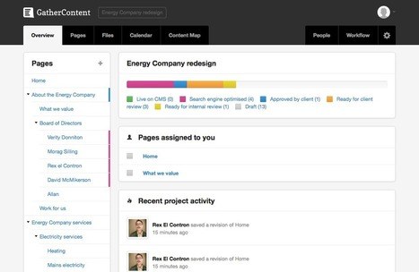 GatherContent — Website content organisation, collaboration and workflow management. | FMT Tools | Scoop.it