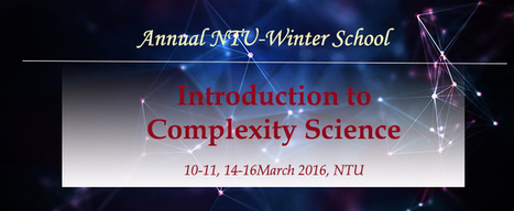 NTU 2016 Winter School | CxConferences | Scoop.it