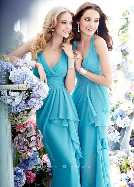 Halter Neckline Wedding Dresses | Cheap HalterNeck Bridesmaid Dress - BridesmaidDesigners | Designer Bridesmaid Dresses 2015 | Scoop.it