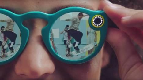 Snapchat lance une paire de lunettes pour filmer votre vie (vidéo) | Internet world | Scoop.it