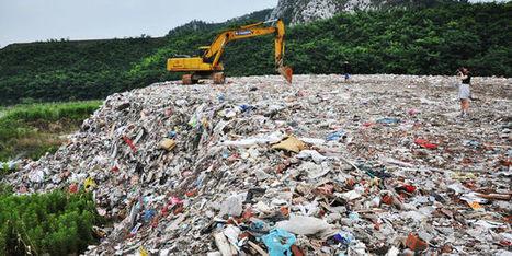 Vingt mille tonnes de déchets déversés dans un lac de Suzhou en Chine   Chronique d'un pays où il ne se passe rien... ou presque !   Scoop.it