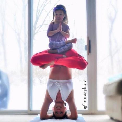 Laura Sykora fait du yoga avec sa fille | Graine de Photographe The Blog | Tendances qui m'intéressent | Scoop.it