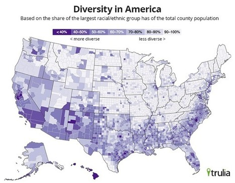 America's Most Diverse Neighborhoods | green streets | Scoop.it