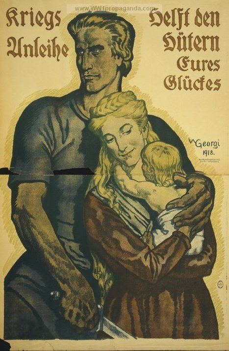Examples of Propaganda from WW1 | German WW1 Propaganda Posters | Humanities cache | Scoop.it