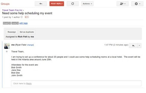 The new Google Groups are officially available | Business in a Social Media World | Scoop.it