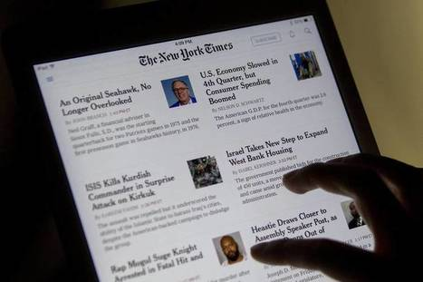 New York Times to Try New Mobile Ad Formats, Target Daily 'Moments' | MarTech | Scoop.it