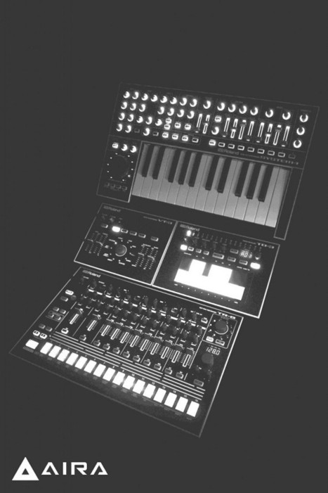 New cool teaser picture of Roland Aira | electronic music magazine | Scoop.it