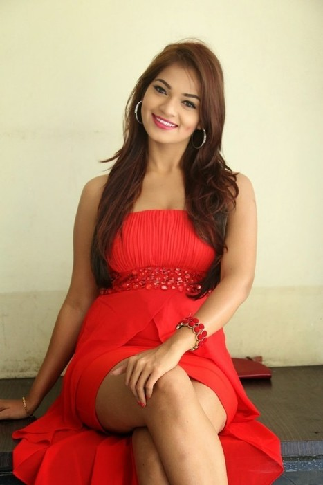 Model Ashwini in Sizzling Red MiniSkirt Dress showing her thunder thighs at Vinodam 100 Movie Launch, Actress, Tollywood, Western Dresses | Indian Fashion Updates | Scoop.it