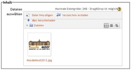 elc Blog – E-Learning an Hochschulen » » Neuerungen in Moodle 2.3 inkl. Drag&Drop-Upload | Moodle Mahara | Scoop.it