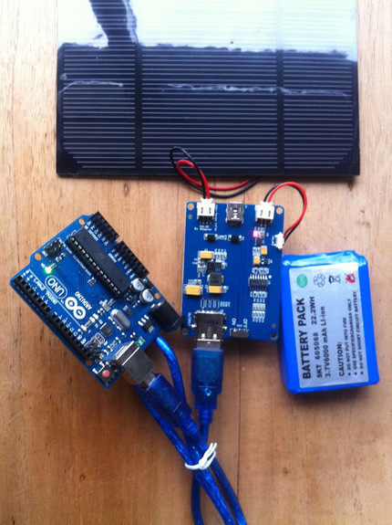 embeddedcomputer.nl - Google+ - Today testing solar powered #arduino uno.  | D.I.Y. electronics | Scoop.it