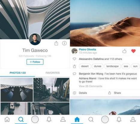 Redesigned 500px Wants To Be Your New High-Res Instagram - Ubergizmo | Instagram | Scoop.it