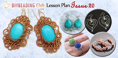 DIY Beading Club Lesson Plan Issue 20 | jewerly making | Scoop.it