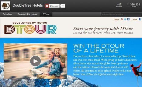 DoubleTree Hotels : aller plus loin que la vidéo sur YouTube - i-Tourisme | hôtellerie et innovation | Scoop.it