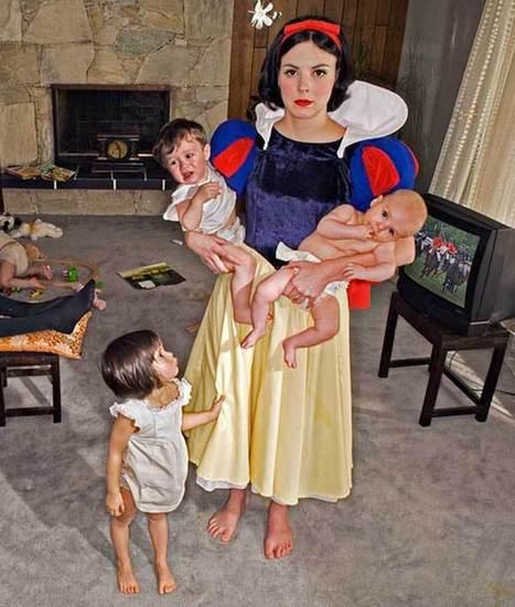Diana Goldstein te muestra cómo acabaron las princesas Disney después de sus finales felices - | 5.4 mm | Scoop.it