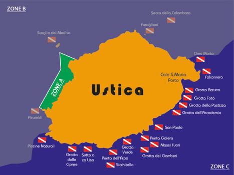 PLONGÉE USTICA : LA MAGIE D'UNE ÎLE DE LÉGENDE - SCUBA PEOPLE : TOUTE LA PLONGÉE | Diving Destinations | Scoop.it