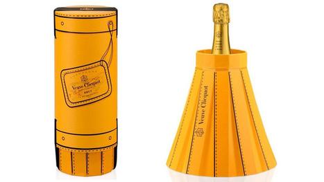 Il nuovo packaging di Veuve Clicquot si trasforma in secchiello - Gizmodo Italia | Packaging | Scoop.it