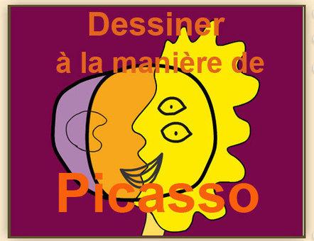 Dessiner à la manière de Picasso | Histoire des arts | Scoop.it