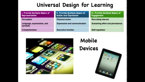UDL Guideline 2 & Explain Everything | Universal Design for Learning | Scoop.it