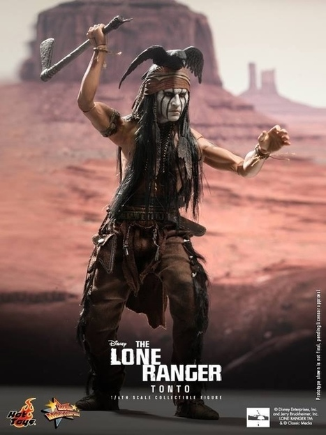 1/6 Hot Toys-MMS 217-The Lone Ranger-Tonto 1/6th Scale ... | Action Figures Toy Gifts For Christmas | Scoop.it