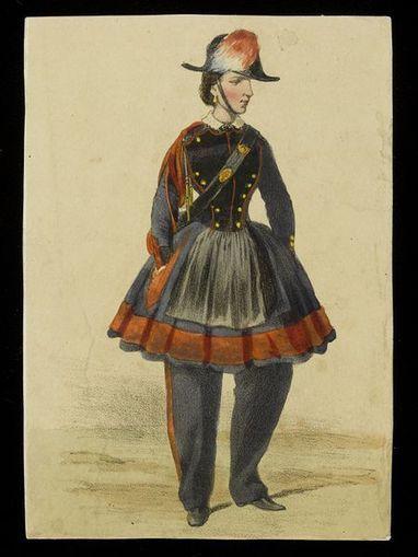 Vivandieres: Part 1 | V&A | Costume History | Scoop.it